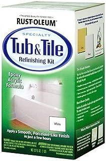 Rust-Oleum Tub & Tile Refinishing Kit White Spray Paint - 7860519