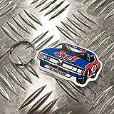 STP ラバー キーホルダー キーリング リチャード ペティ NASCAR アメリカン雑貨