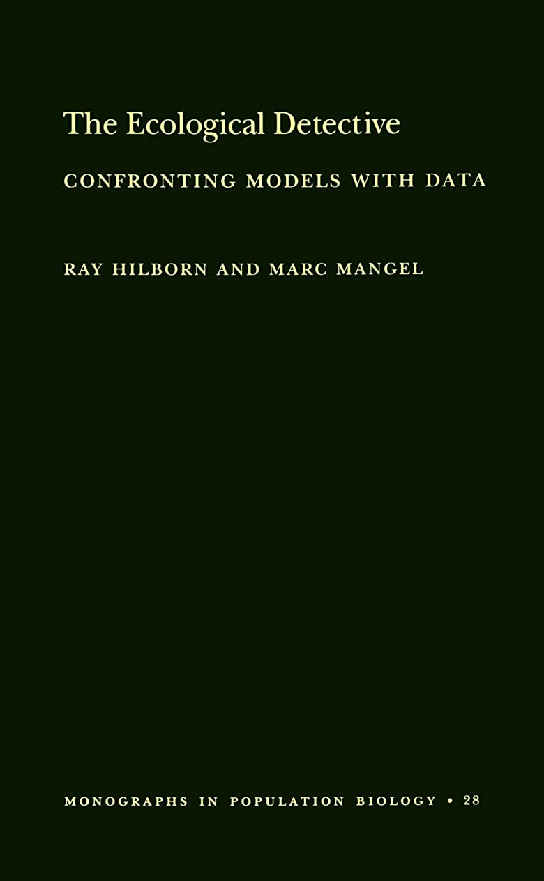 検出器天気トイレThe Ecological Detective: Confronting Models With Data (Monographs in Population Biology)