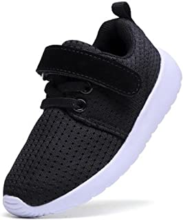 WUIWUIYU Boys Girls Outdoors Breathable Mesh Sneakers Athletic Sport Training Running Shoes