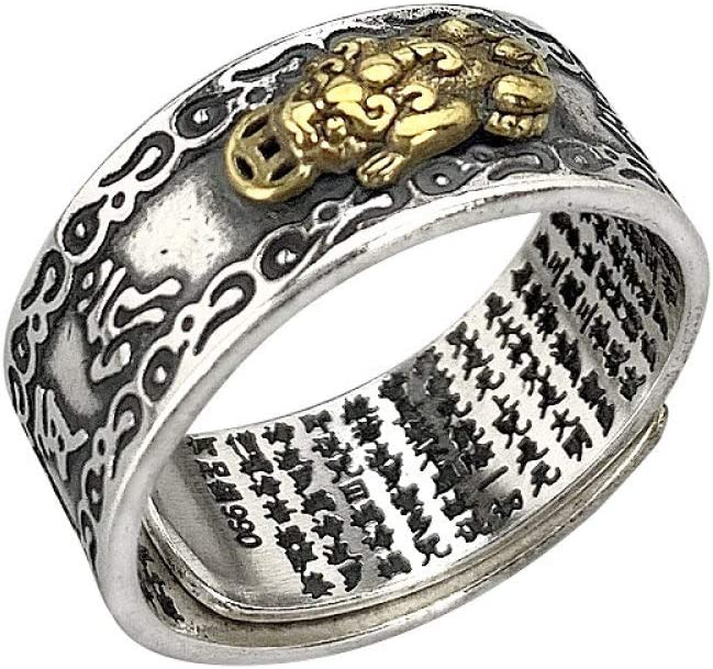 Breccaly Vintage S925 Sterling 35% San Diego Mall OFF Silver Open Ring Simple C Women's