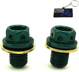 stoneder 2x Green Oil Drain Bolt Plug 50–160cc LIFAN 012765Tastschalter Zongshen Motor Pit Dirt Bike ATV