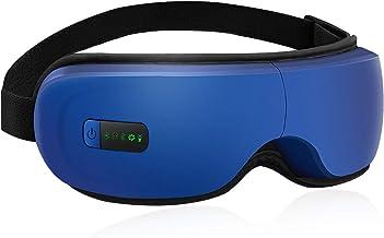 Eye Massager,Portable Electric Bluetooth Eye Massager with Heat Air Pressure Vibration,Relieve Eye Strain Dark Circles Eye...