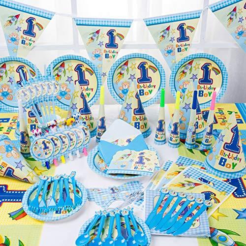 Queta Cartoon Anime Thema Geburtstagsfeier Lieferungen, Kindergeburtstagsfeier Requisiten, Einweggeschirr Atmosphäre Dekoration Hut Requisiten Haustier Elfen Partei Lieferungen (6 Personen)
