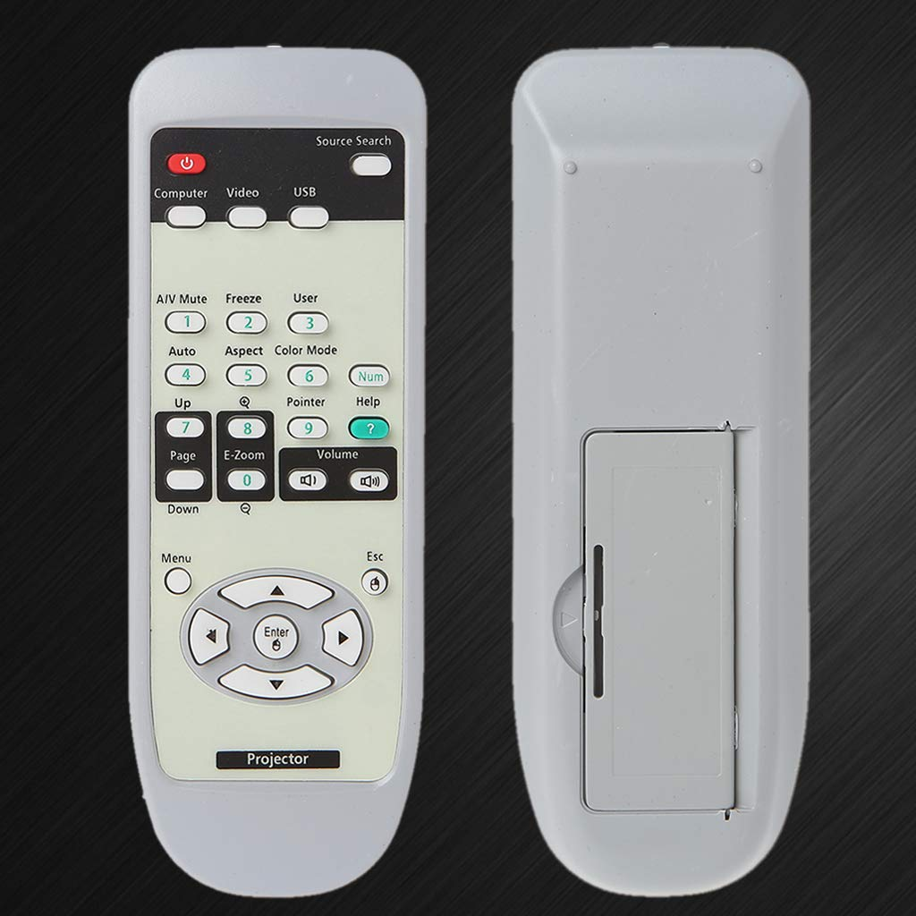siwetg - Mando a Distancia para proyector Epson EMP-X5 EB-S6 EB-X6 ...