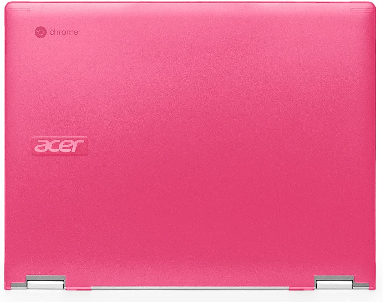 mCover Hard Shell Case Compatible with 2020 / 2021 Acer Chromebook Spin 713 CP713-2WN Series (NOT Compatible with All Other Acer Chromebooks ) - AC-SP13-CP713-2WN-Pink