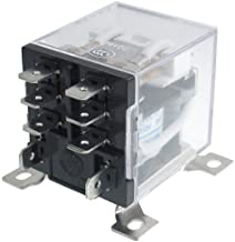 URBEST 8 Pin JQX-12F 2Z DC 12V 30A DPDT General Purpose Power Relay for Remote Control, Automatic Control System