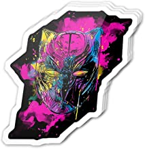 Uitee Store Cool Sticker (3 pcs/Pack,3x4 inch) Inked Panther Sketch Comic Art Stickers for Water Bottles,Laptop,Phone,Teachers,Hydro Flasks,Car