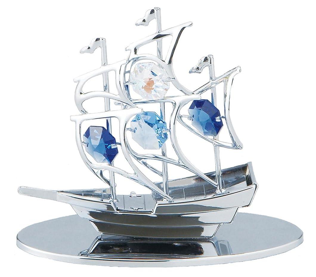 標準ページェント塗抹茶谷産業 CRYSTOCRAFT 帆船 850-605