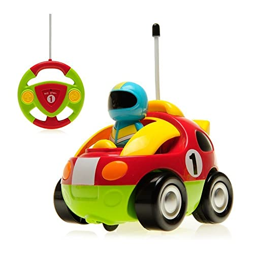 KINGBOT DeXop RC Cartoon Race Car with Music Radio Control Toy Action Figure Rc Vehicle