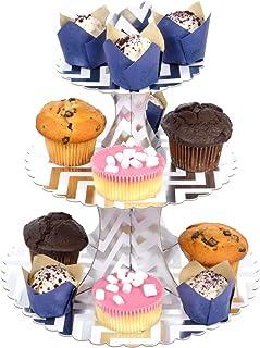 3 etages toren cupcake party taartstandaard taartstandaard standaard decoratie etagestandaard buffet etages etage etages