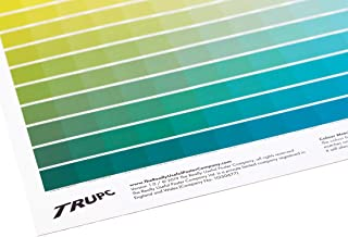 The Really Useful CMYK Colour Chart - 1025 unique CMYK Colour Swatches on 1 Poster - Pantone Colour Book & Colour Wheel alternative - Wall Art for Design Studio or Gift for Graphic Designer - A1 Size