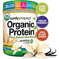 Purely Inspired Plant Based Nutrition French Vanilla Organic Protein Powder (1.5 Pounds)