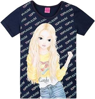 Top Model Niña T-Shirt, Camiseta, Azul