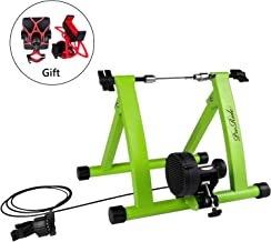 Proride Bike Trainer Stand Indoor Exercise Bicycle Magnetic Stand with Bike Phone Holder