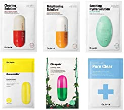 Dr. Jart Mask Sheet Set 6 Pcs Mixed with Pore Mask & Brightening Mask Comes in a Customized Gift Packaging