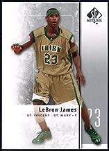 Basketball NBA 2011-12 SP Authentic #2 LeBron James NM-MT