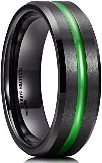 lime green wedding band