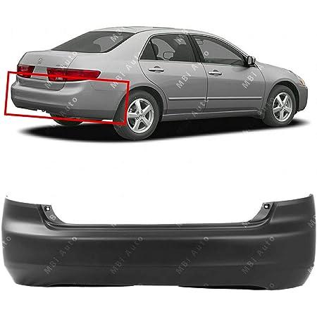 Crash Parts Plus Primed Rear Bumper Cover Replacement for 2003-2005 Honda Accord Sedan