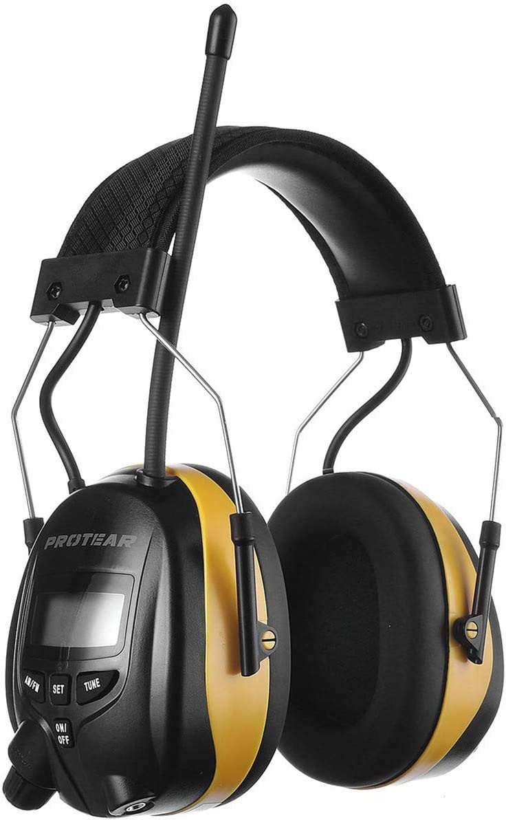 PROTEAR Digital AM Max 74% OFF FM Radio Limited time for free shipping NRR 25dB Protection Ear Headphones