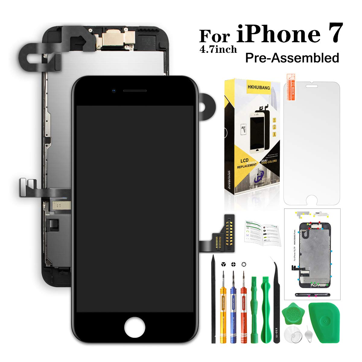Compatiable iPhone Replacement Hkhuibang Digitizer