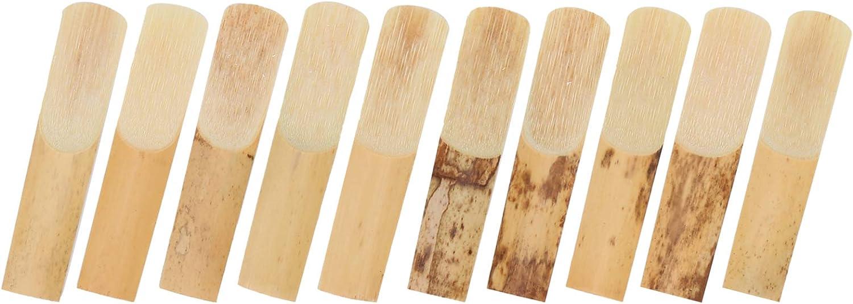 EBTOOLS Sax Reeds 10Pcs Normal Bb Soprano Level Max 67% Regular store OFF Saxop