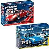 PLAYMOBIL® City Action Set en 2 parties 3911 5991 Porsche 911 Carrera S + Porsche 911 Targa 4S