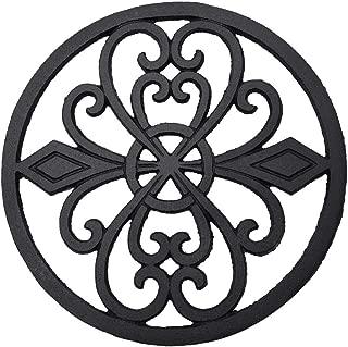 black iron trivet frame