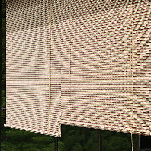 Stores Enrouleurs Stores à Enrouleur Colorés, Stores D'extérieur D'extérieur for Terrasse/Plate-Forme/Véranda/Pergola, 60% de Protection Contre Le Vent et Le Soleil, Faciles à Installer