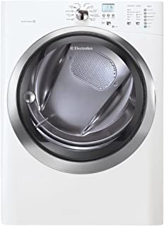 Electrolux EIMED55IIWIQ-Touch 8.0 Cu. Ft. White Stackable With Steam Cycle Electric Dryer