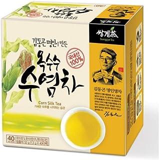 SsangGye Corn Silk Tea, Help to urinate, Master made Tea 1.3g x 40 TB