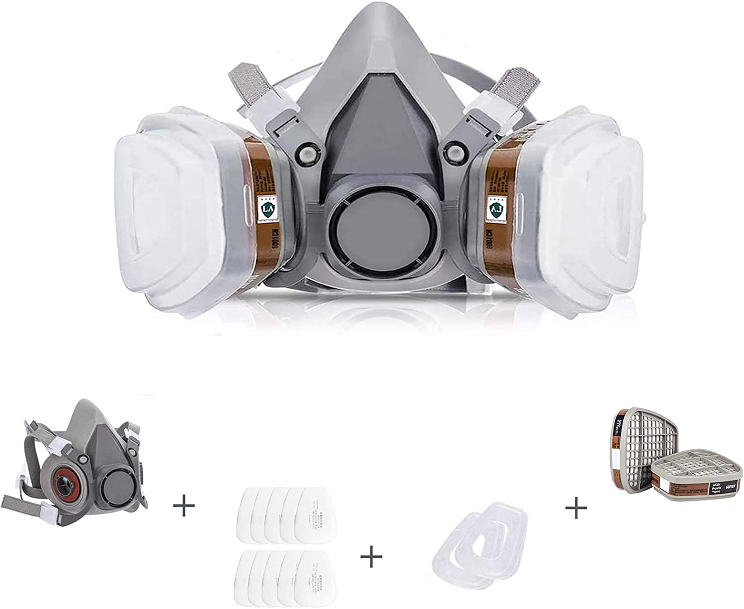 Reusable Bargain Face Cover Set for Vapors Organic Dust Max 47% OFF Against Painting