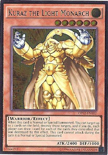 YU-GI-OH! - Kuraz The Light Monarch (OP02-EN002) - OTS Tournament Pack 2 - Unlimited Edition - Ultimate Rare