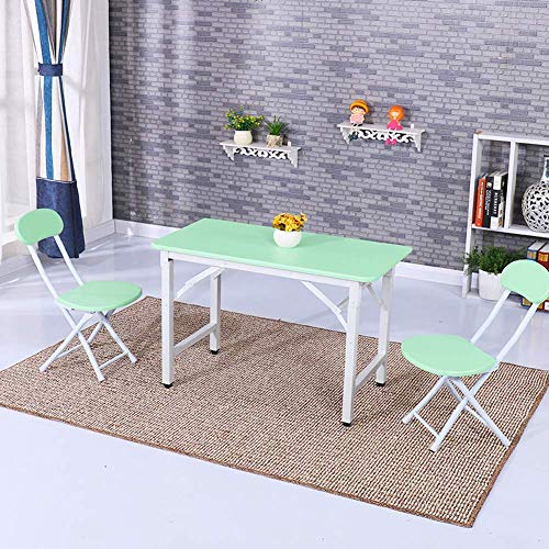 Draagbare, multifunctionele klaptafel voor koelkasten, geschikt voor eettafel voor feestjes binnen en buiten, voor kinderen, wit, 80 cm Vistoso
