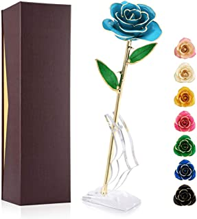golden rose for gift