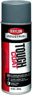 Krylon A01615 Tough Coat Med. Gray Acrylic Enamel, 16 Oz, Medium Gray (Pack of 12)