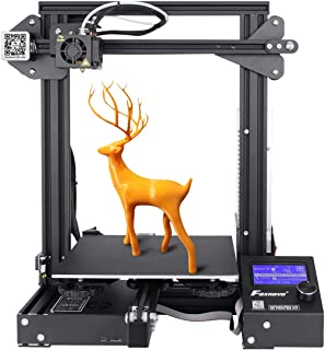 Foxnovo 3D Printer, Ender 3 3D Printer Kit with High Precision, No Warping, Resume Printing for Home & School Use 220x220x250mm