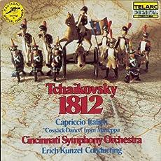 Tchaikovsky: 1812 Overture, Capriccio Italien, Cossack Dance From Mazeppa
