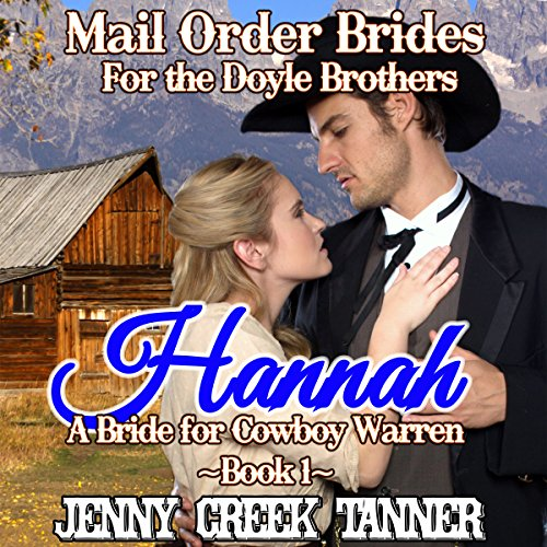 Hannah: A Bride for Cowboy Warren audiobook cover art