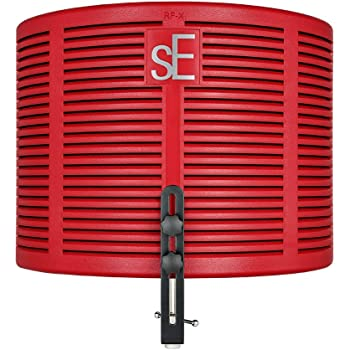 sE Electronics RF-X/RB リフレクション・フィルター 軽量化 レッド【国内正規品】