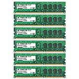 24GB KIT (6 x 4GB) for Dell Precision Workstation Series T3500 (Non-ECC). DIMM DDR3 Non-ECC PC3-10600 1333MHz RAM Memory. Genuine A-Tech Brand.