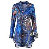 Camisa De Ocio De Gran TamañO URIBAKY para Mujer, Blusa De