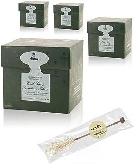 EILLES Tea Diamonds Earl Grey Mega-Sparset mit 4 Boxen und gratis Kandisstick von Gourvita Moments
