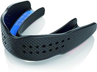 ショックドクター (ShockDoctor) マウスガード SUPER FIT(スーパーフィット) 成形 保護 軽量 うすい スポーツ トレーニング 格闘技 アダルト ブラック