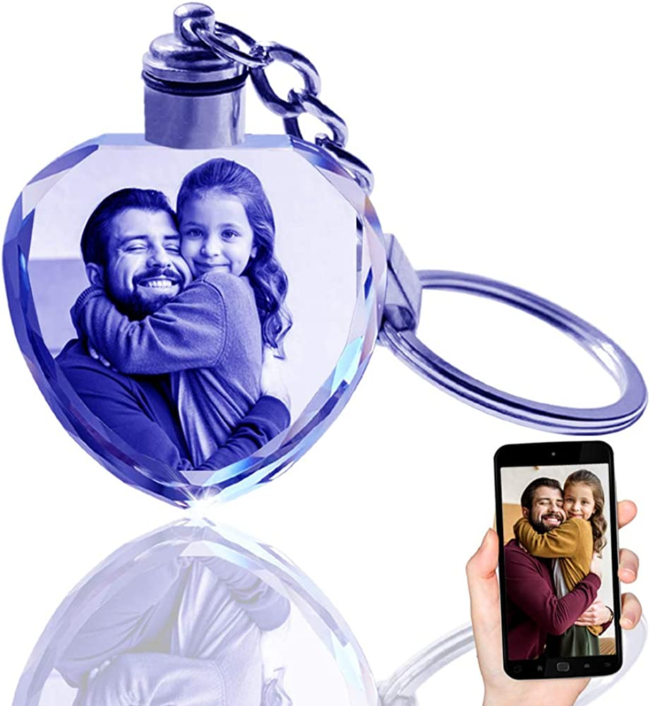 Max 75% OFF QIANRUNA Personalized Custom LED Finally resale start Laser G Engraved Etched Crystal