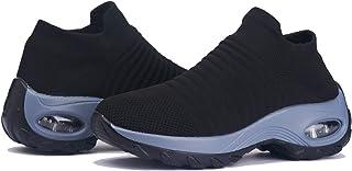 MuleugWomen's Walking Shoes Socks Sneakers - Athletic WoWomen's Running Shoes Socks Sneakers - Athletic Woman Sports Shoes...