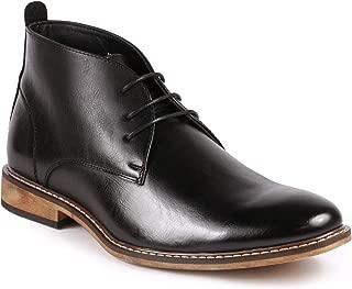 Metrocharm MC149 Men's Lace up Oxford Fashion Ankle Chukka Boots