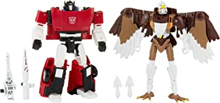 Transformers Toys Generations Kingdom Battle Across Time Collection Deluxe Class WFC-K42 Sideswipe & Maximal Skywarp, Age ...
