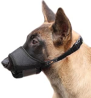 PETEMOO 犬のマズル 犬用マズル口輪 無駄吠え 噛みグセ キズなめ 咬みつき防止 アップグレード 柔らかい 犬の口を保護する