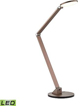 Dimond照明コブラLEDデスクランプ、ローズゴールド